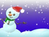 Snow child — Stock Photo