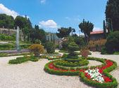 Garden Garzoni — Stock Photo