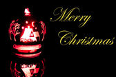 Brighter christmas decoration — Stock Photo