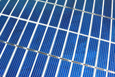 Macro photovoltaic panel — Stock Photo