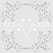Vintage Floral Ornaments Set — Stock Vector