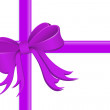 Stock Photo: Gift wrapped with silk ribbon