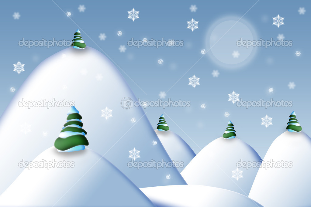 Great christmas background illustration — Stock Photo #7125127