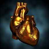 Heart of Gold — Stock Photo