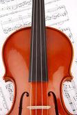 Violin Music — Stock Photo