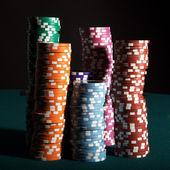 Poker Gambling — Stock Photo