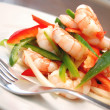 Prawn salad — Stock Photo #6928676