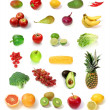 Fruit and vegetables - 图库照片