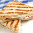 Stock Photo: Grilled sandwich