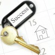 Royalty-Free Stock Photo: Keys to new home
