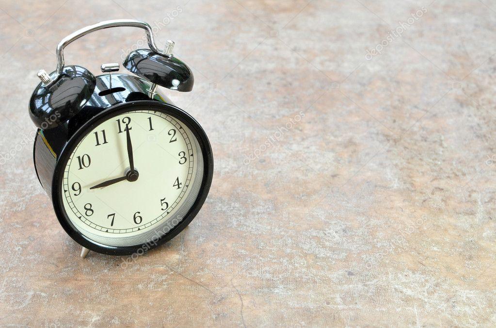 Vintage alarm clock � Stock Photo � nupix #7084952