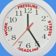 Time deadline — Stock Photo