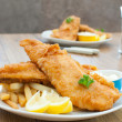 Fish and chips — Stock Photo #7848191