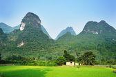 Strange mountain in Lijiang River Guilin Guangxi China — Stock Photo