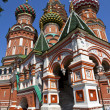 St Basil's Cathderal on Red Square, Moscow — Stock Photo