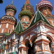 St Basil's Cathderal on Red Square, Moscow — Stock Photo #6813725