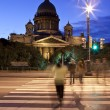 St. Isaac's Cathedral in St Petersburg — Stock Photo