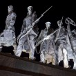 Detail of Monument to Heroic Defenders of Leningrad — Stock Photo #6814441