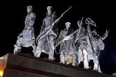 Detail of the Monument to the Heroic Defenders of Leningrad — Stock Photo