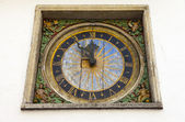 Clock (Church of the Holy Spirit), Tallinn — Stock Photo