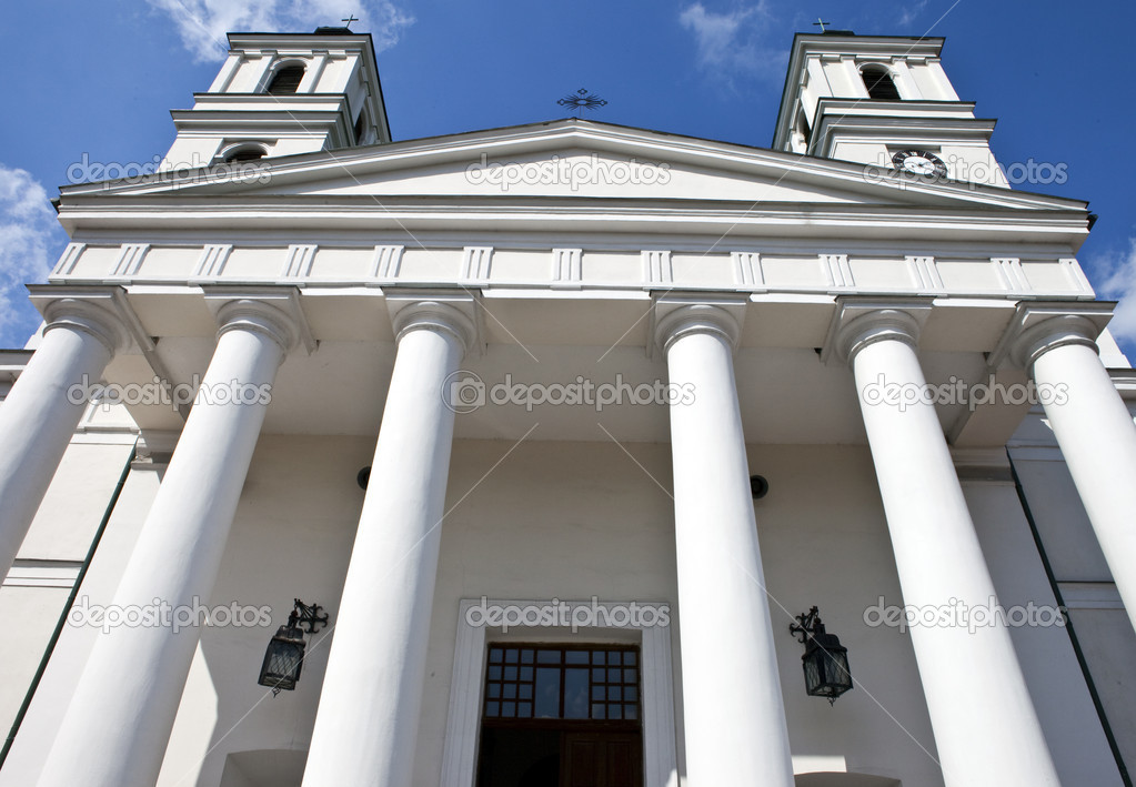Saint Alexander's Church in Suwalki, Poland. — Stock Photo #6813193