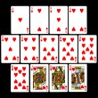 Stock Photo: Playing Cards (Hearts)