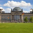 The Reichstag in Berlin - Stock Photo