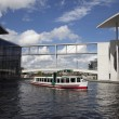 Stock Photo: River Spree with Marie-Elisabeth-L
