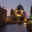 The Berliner Dom and the River Spree - Berlin — Stock Photo #6827607