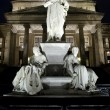 Friedrich Schiller Statue and Konzerthaus - Berlin — Stock Photo