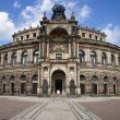 The Semper Opera House in Dresden — Stock Photo