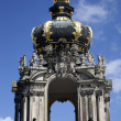 The Kronentor at the Zwinger Palace in Dresden — Stock Photo #6827823