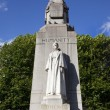 Edith Cavell Statue in London. - Stock Photo