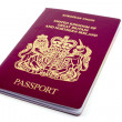 UK Passport — Stock Photo