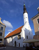 Church of the Holy Spirit in Tallinn — Stock Photo