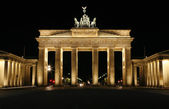 The Brandenburg Gate - Berlin, Germany. — Stock Photo