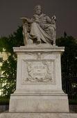 Wilhelm Von Humboldt Statue outside Humboldt University, Berlin — Stock Photo