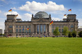 The Reichstag in Berlin — Stock Photo