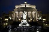 Konzerthaus and Friedrich Schiller Statue - Berlin — Stock Photo