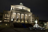 Konzerthaus and Friedrich Schiller Statue - Berlin — Stock Photo