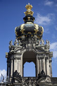 The Kronentor at the Zwinger Palace in Dresden — Stock Photo
