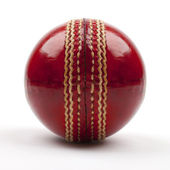 Red Cricket Ball — Stock Photo