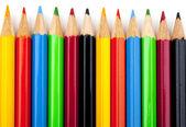 Färga pennor — Stockfoto