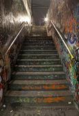 可满足城市楼梯 — 图库照片