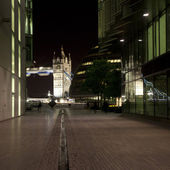 View of Tower Bridge and County Hall — Stock Photo