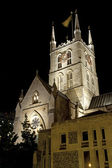 Southwark Cathedral at Night — Stock Photo