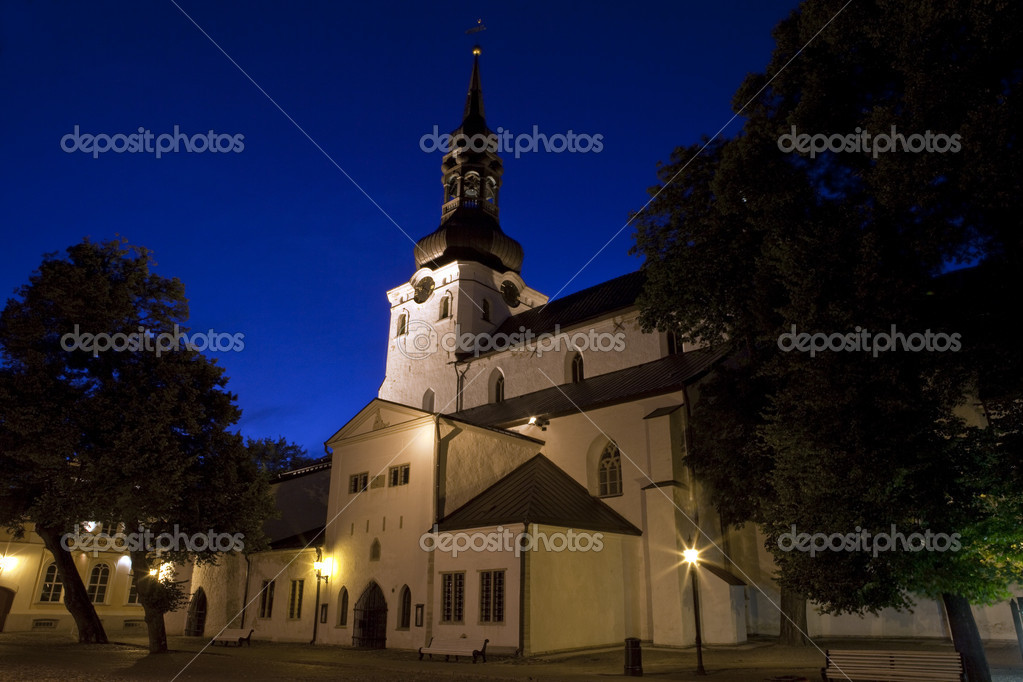 The Cathedral of St. Mary the Virgin in Tallinn, Estonia. — Stok fotoğraf #6822934