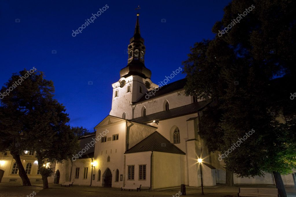 The Cathedral of St. Mary the Virgin in Tallinn, Estonia. — Stockfoto #6822934