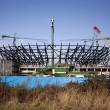 London Olympic Stadium under construction. — Stock Photo