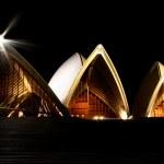 Sydney Opera House at Night — Stock Photo #6830819